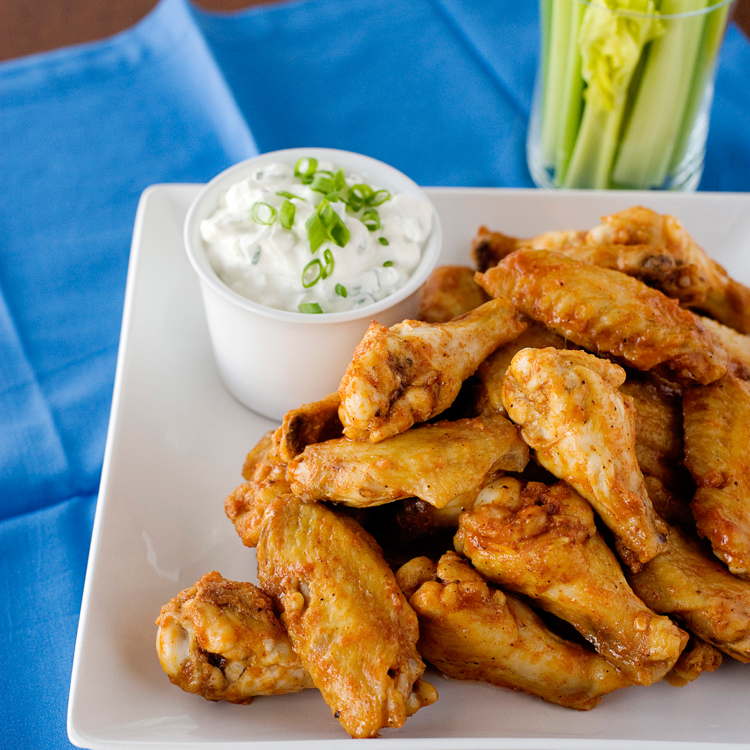 Baked Buffalo Chicken Wings Recipe - Quick From Scratch Chicken | Food ...