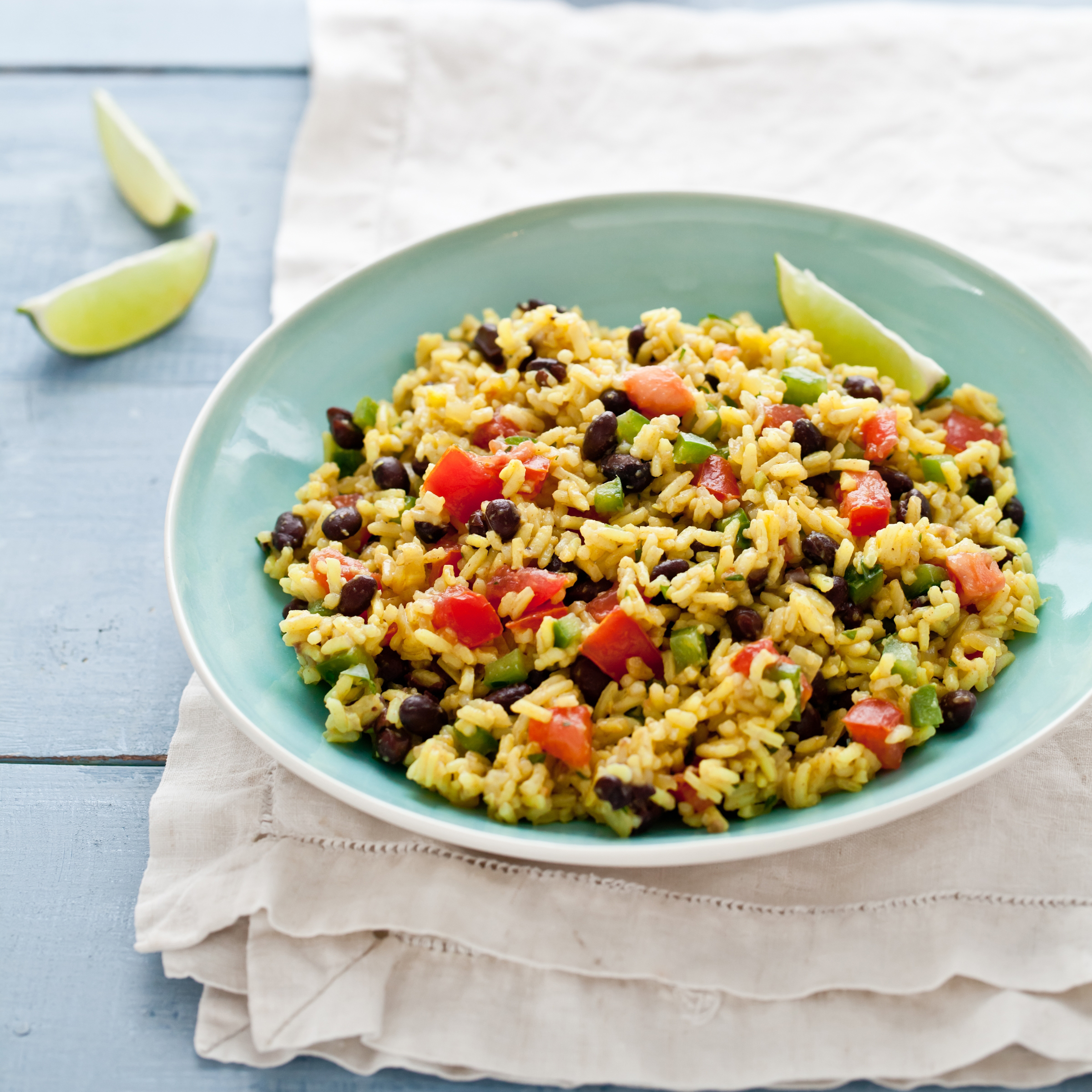 Black-Bean and Yellow-Rice Salad Recipe - Quick from Scratch Vegetable ...
