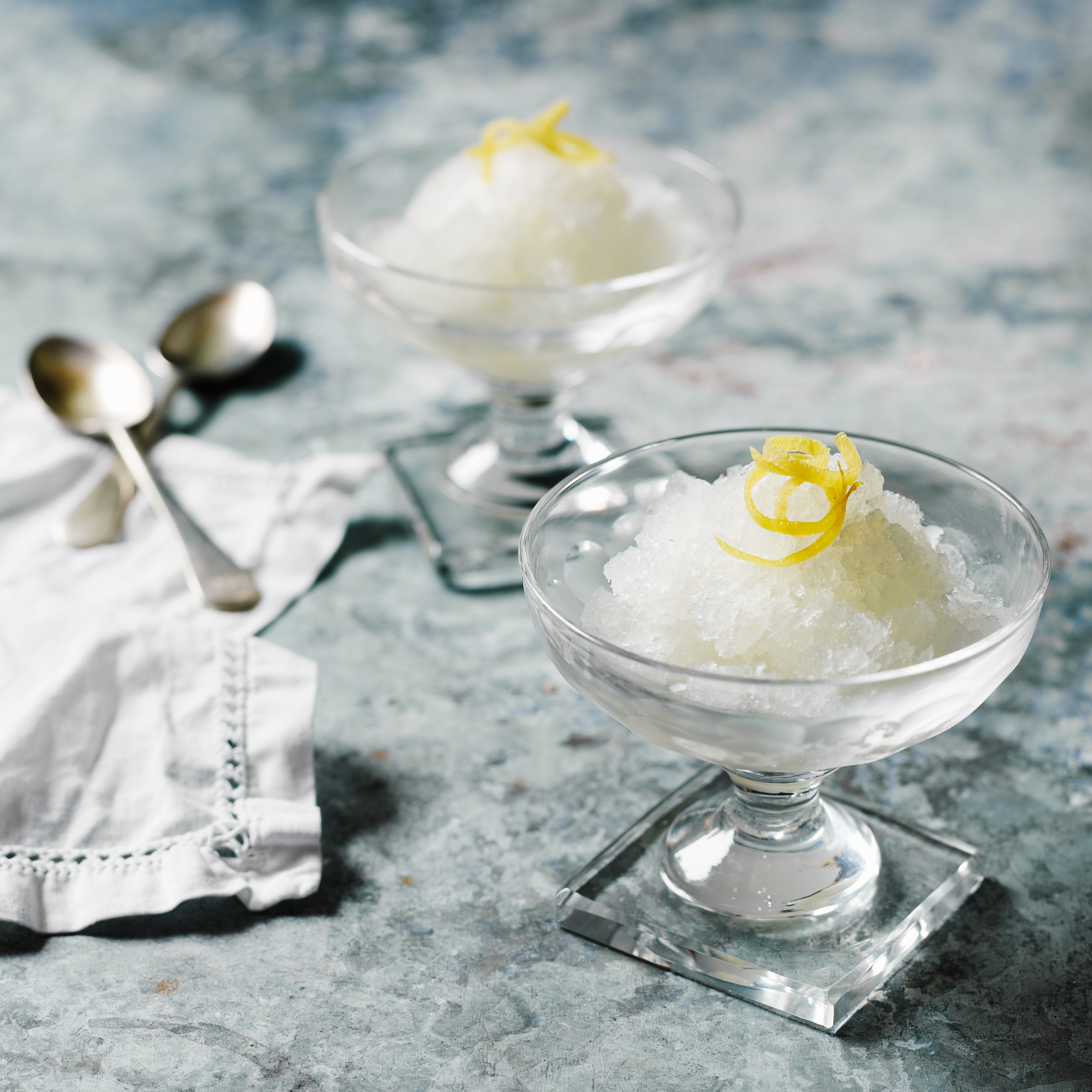 Lemon and Rosemary Granita Recipe - Quick From Scratch ...