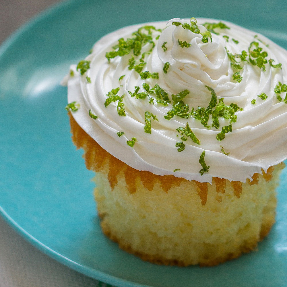 Lime-Coconut Cupcakes Recipe - Emily Farris | Food & Wine