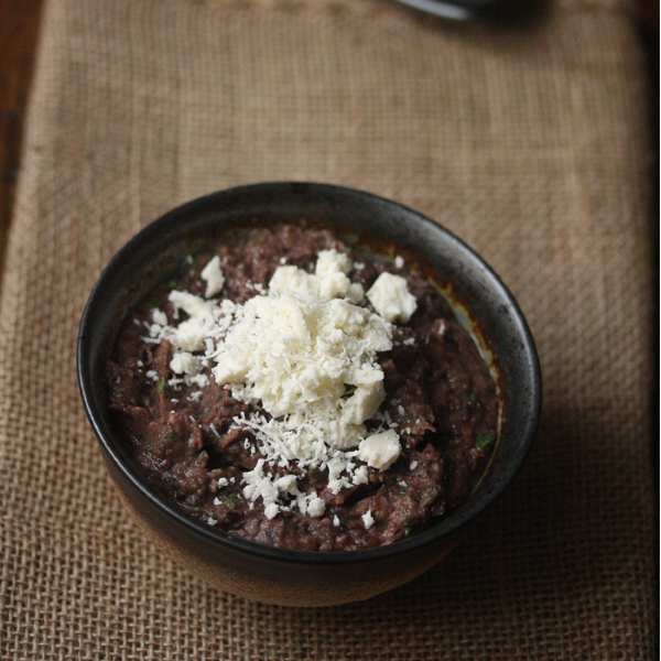 Spicy Black Bean Dip with Cotija Cheese Recipe - Phoebe ...