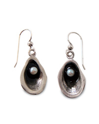 Sustainable Seafood: Oil Spill Earrings