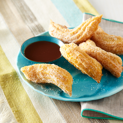 Chris Hanmer's Citrus-and-Spice Churros with Mocha Sauce