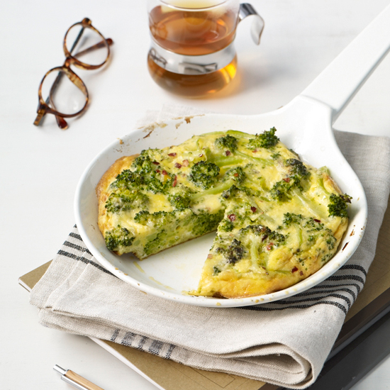 Healthy Eating Tips: Broccoli Frittata