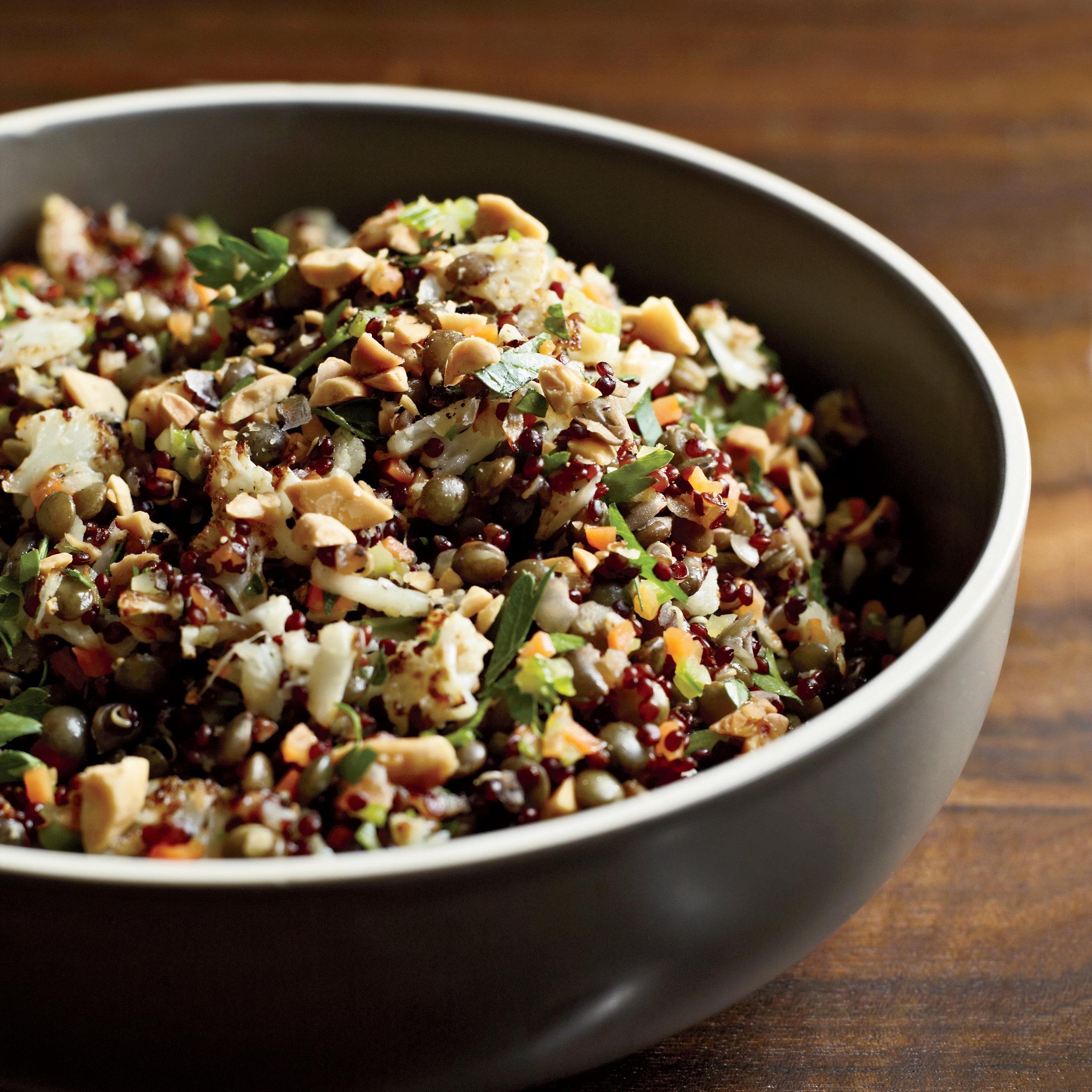 red quinoa and lentil pilaf recipe akasha richmond