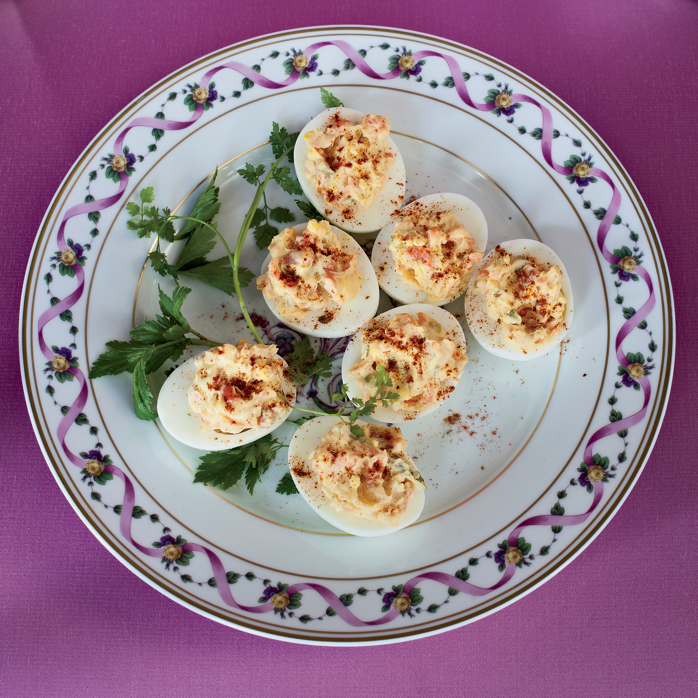 Smoked-Salmon Deviled Eggs Recipe - Michael Mina | Food & Wine