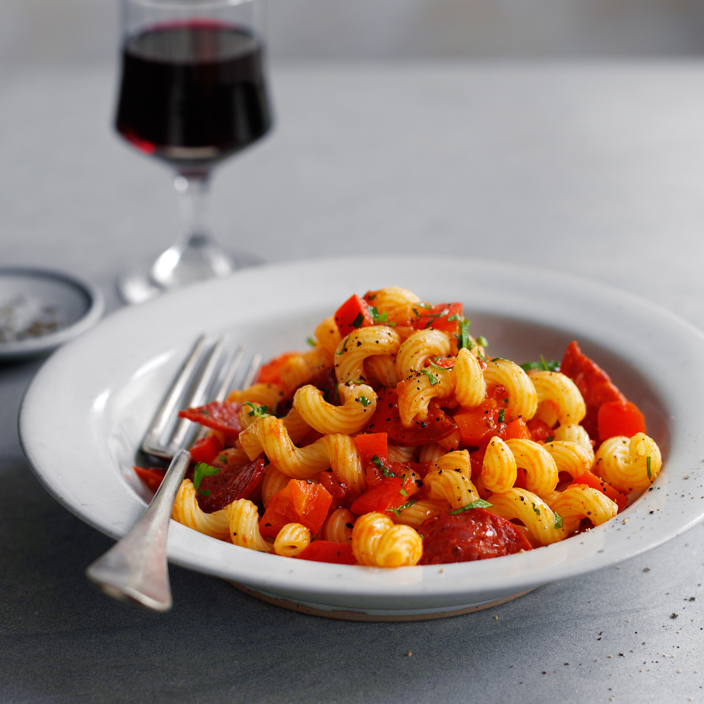 Cavatappi With Pepperoni Recipe Quick From Scratch Pasta