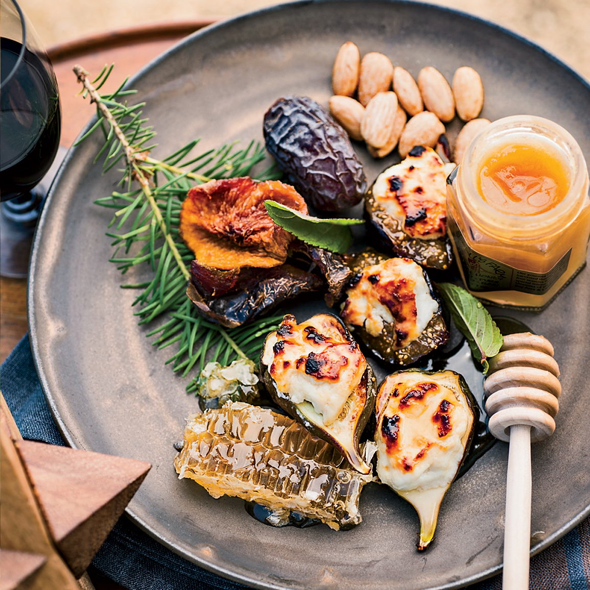 Honey-Broiled Figs with Ricotta Recipe - Richard Betts | Food & Wine
