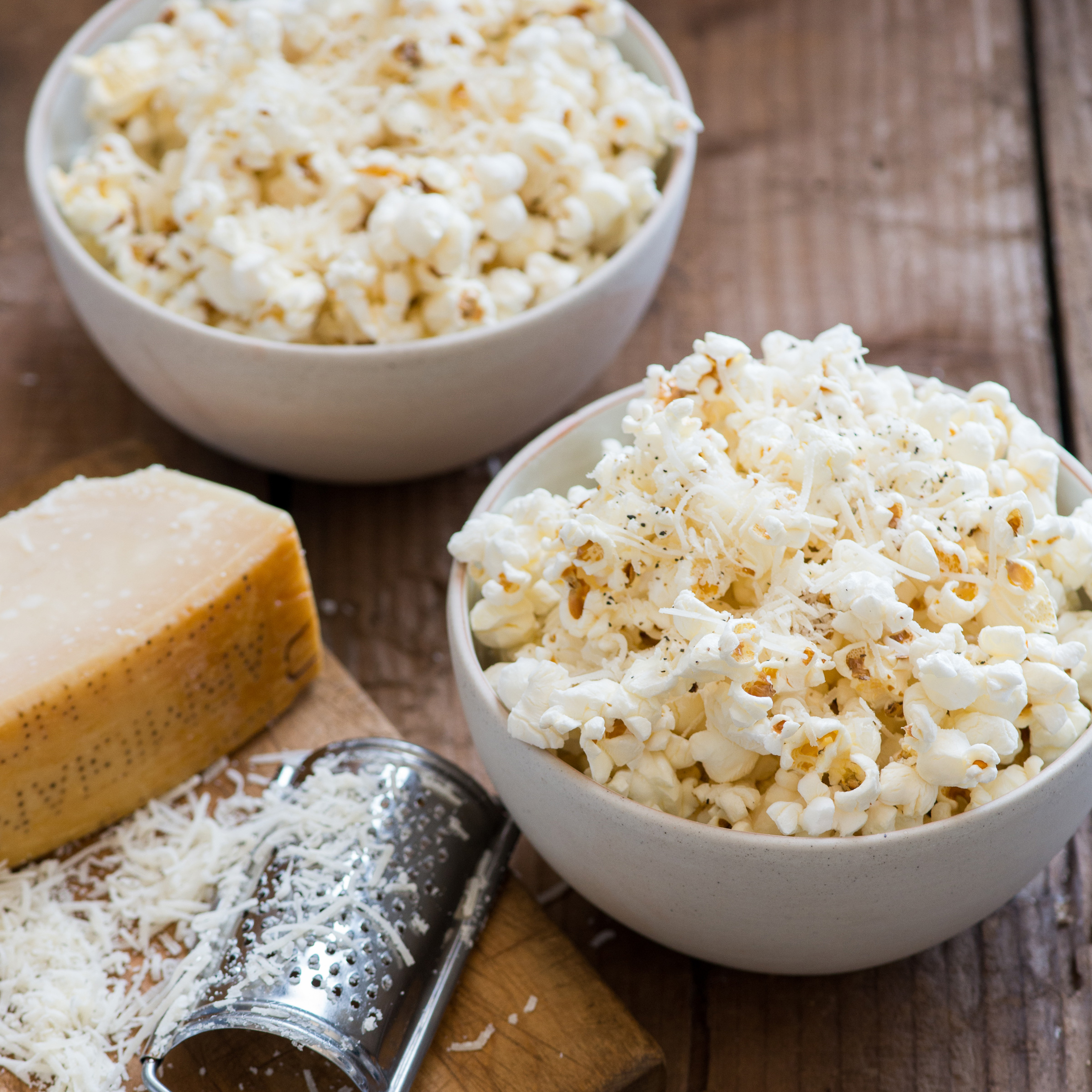 Parmesan Cheese Popcorn Recipe - Todd Porter and Diane Cu ...
