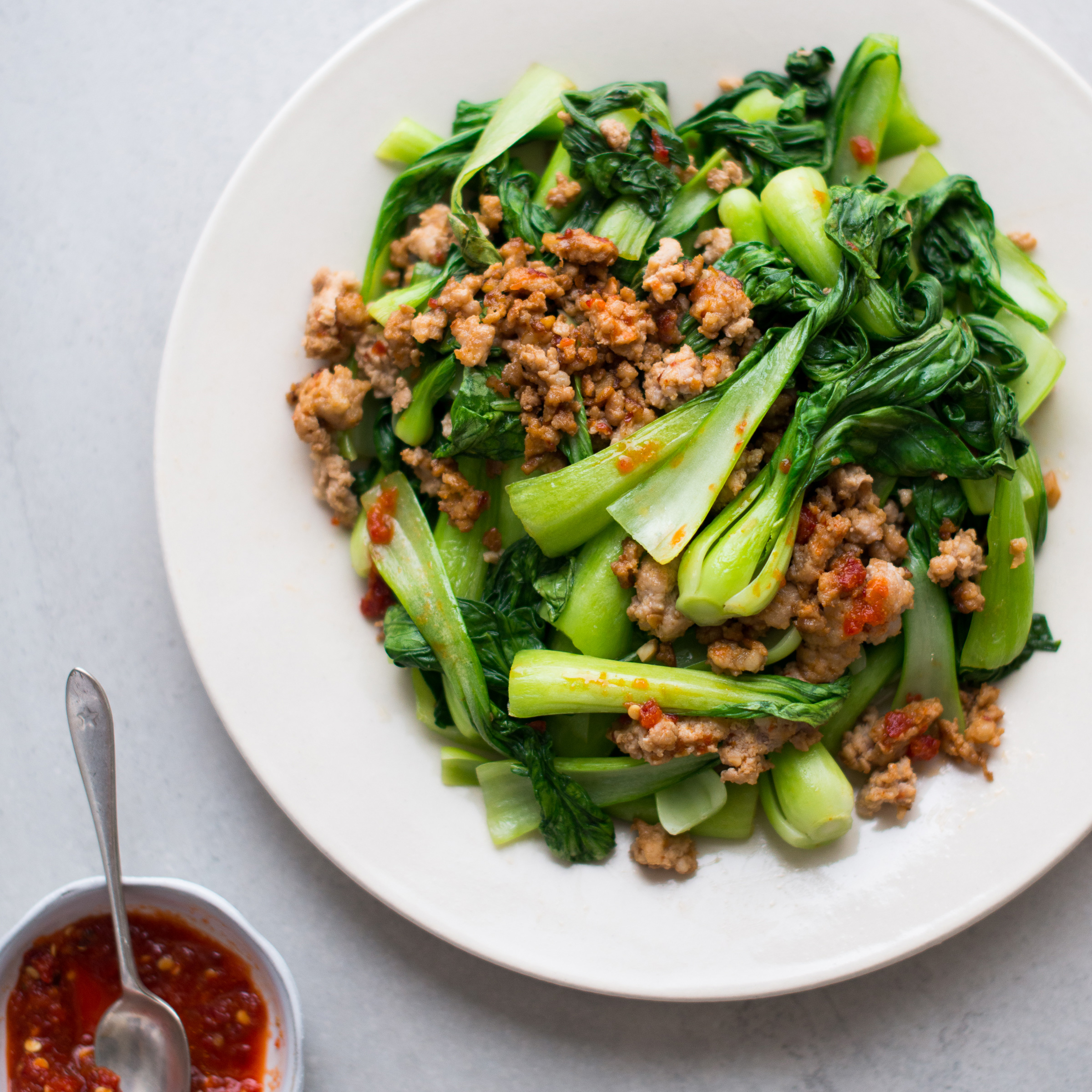 Recipes with bok choy and pork