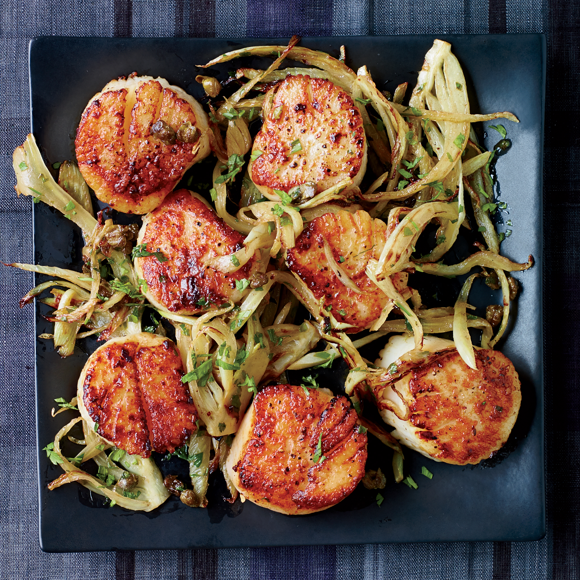 Scallops with Fennel Grenobloise Recipe - Kay Chun | Food & Wine