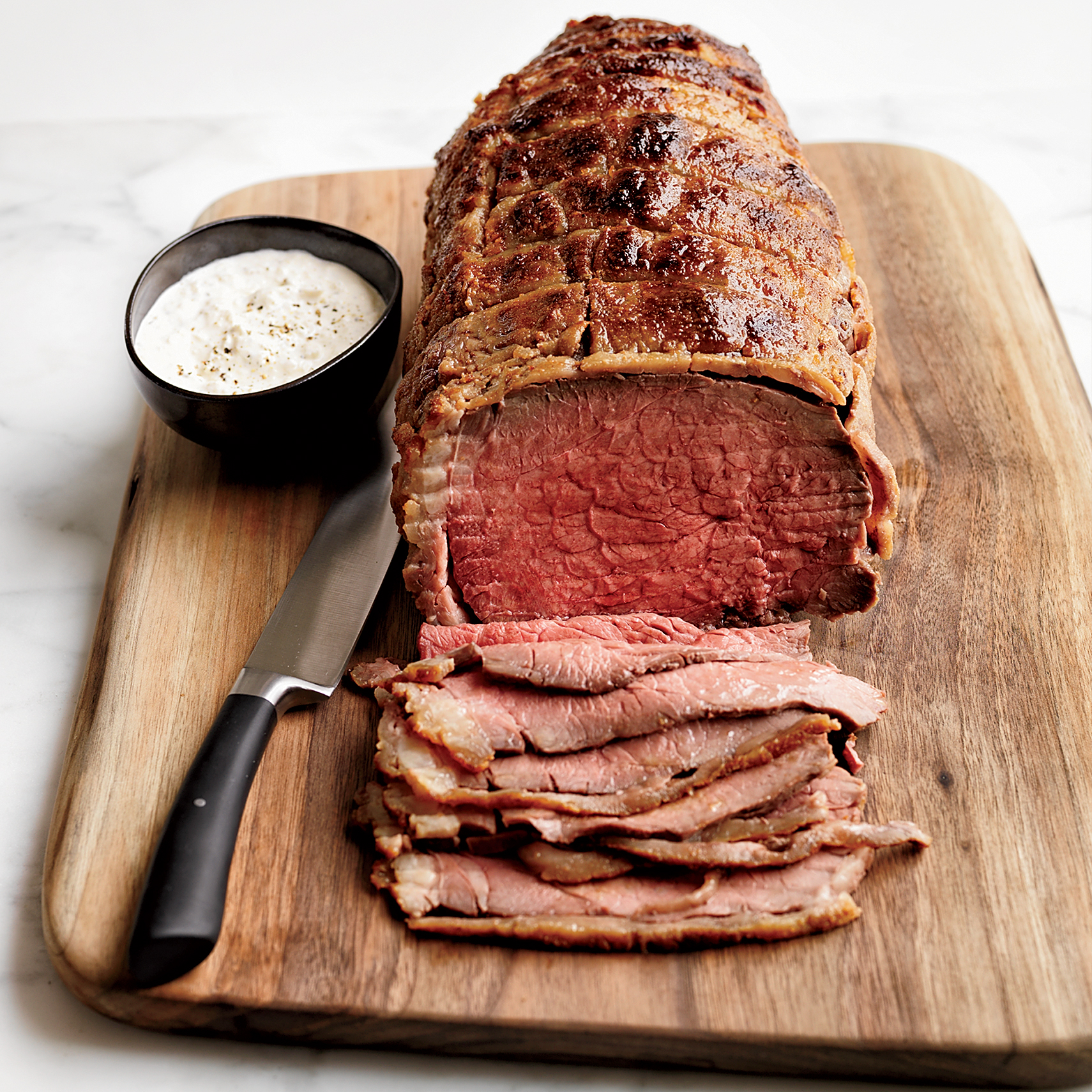 Stupid-Simple Roast Beef With Horseradish Cream Recipe