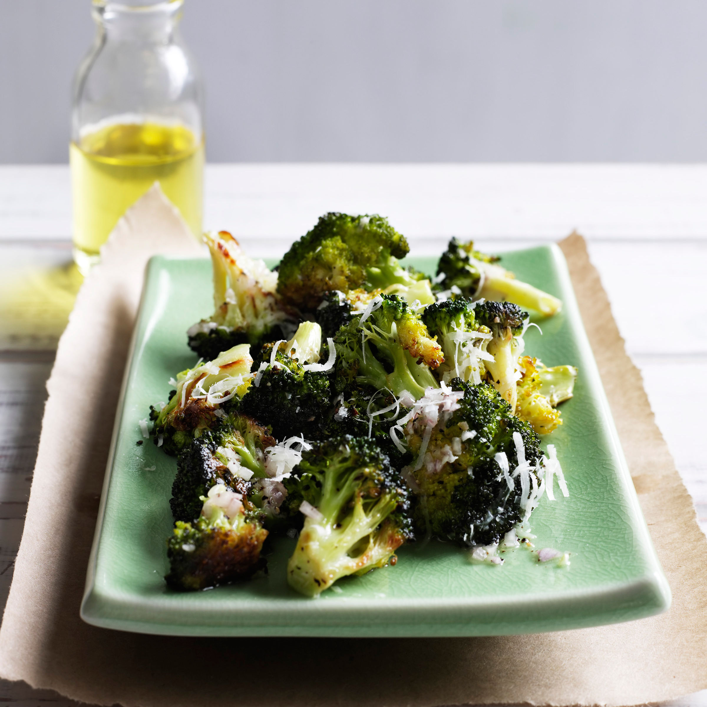 Roasted Broccoli with Lemon and Parmesan Recipe - Melissa Rubel ...