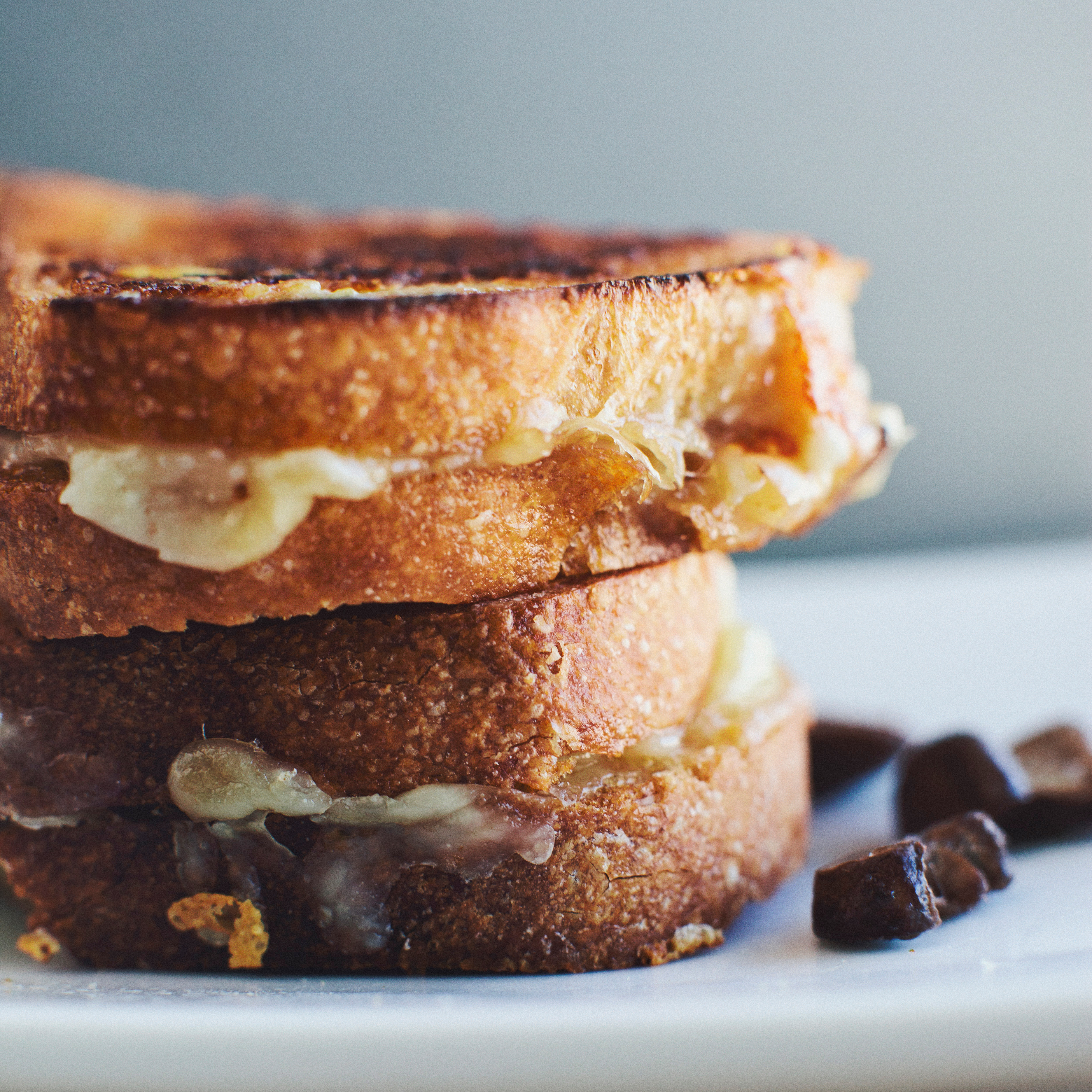 Grilled Fontina, Mushroom, and Sage Sandwiches Recipe ...