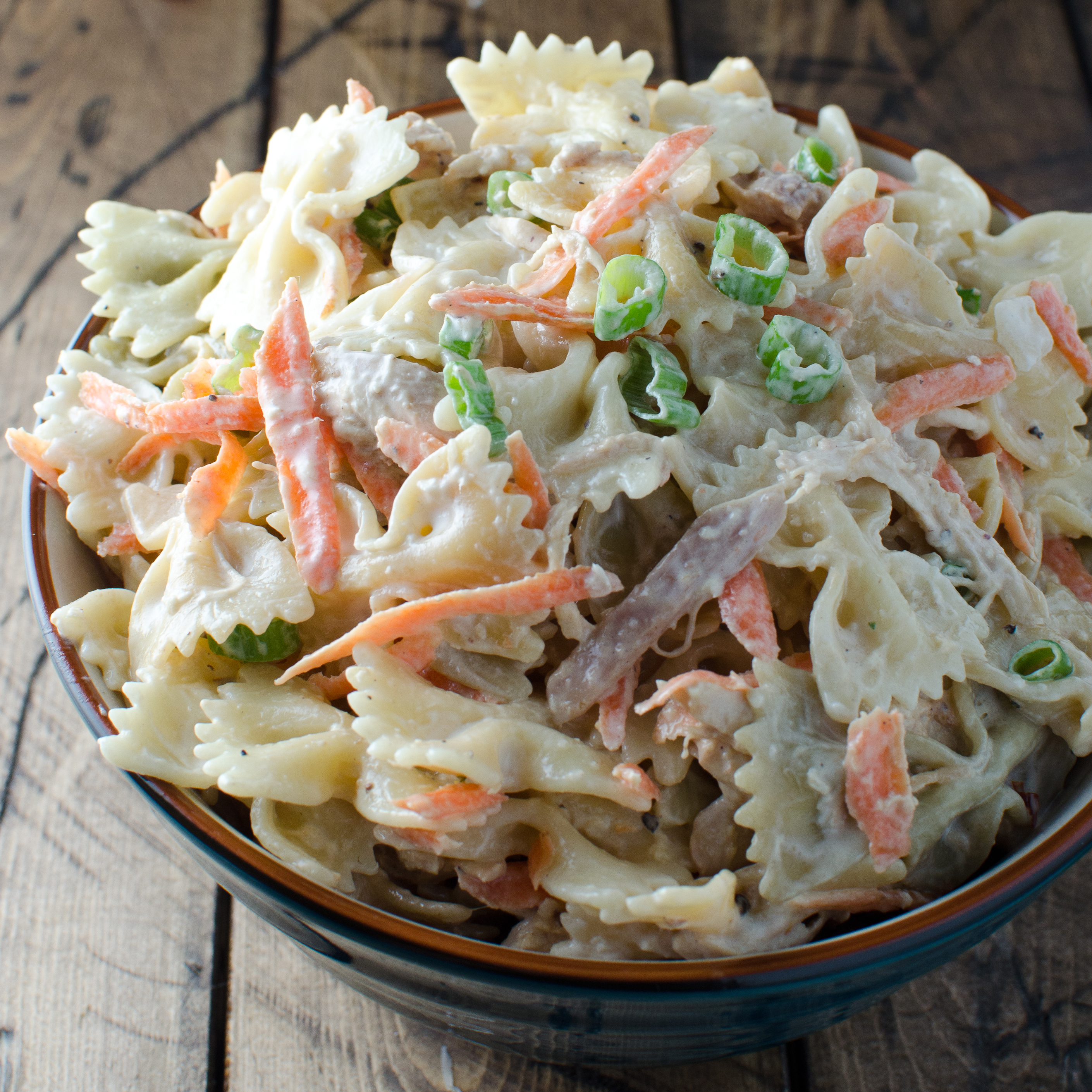 Sesame–Ginger Chicken Pasta Salad Recipe