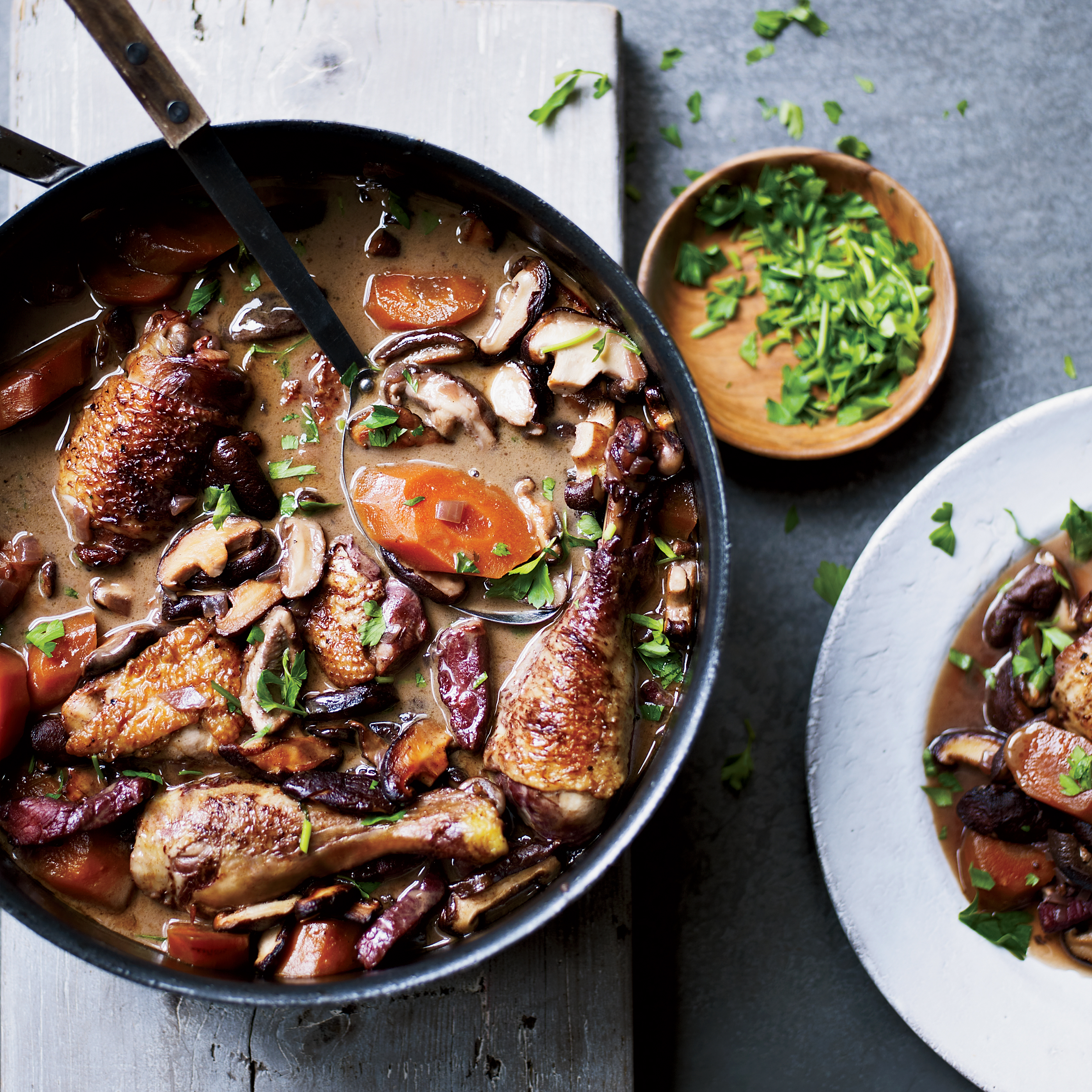 Coq au Vin Recipe - Marjorie Taylor | Food & Wine