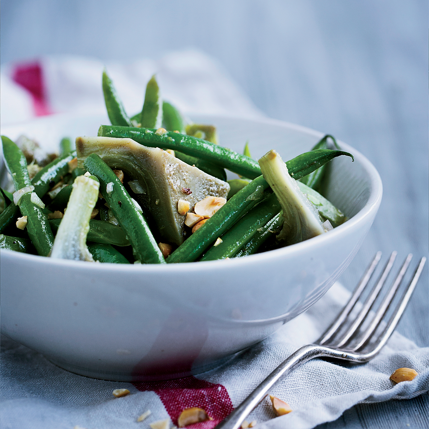 Haricots Verts and Artichoke Salad with Hazelnut ...