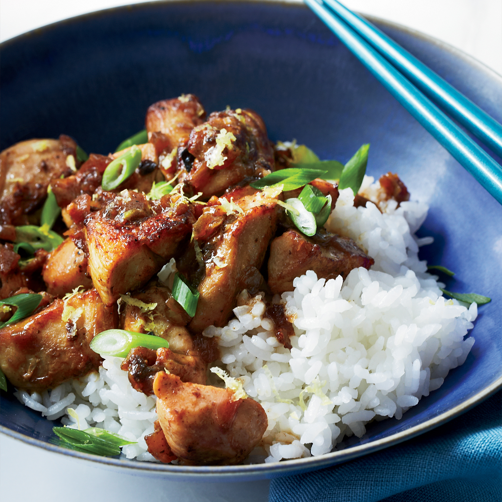 Lemony Chicken Stir-Fry Recipe