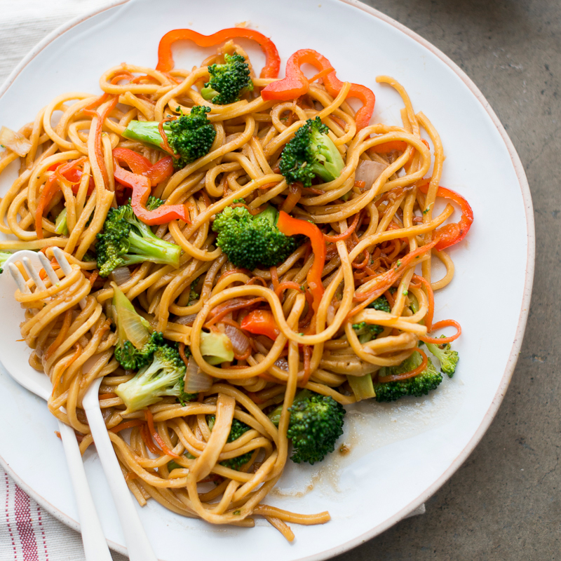 Vegetable Chow Mein Recipe - Todd Porter and Diane Cu ...
