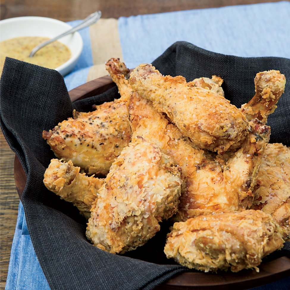 Fried Chicken With Honey Mustard Recipe