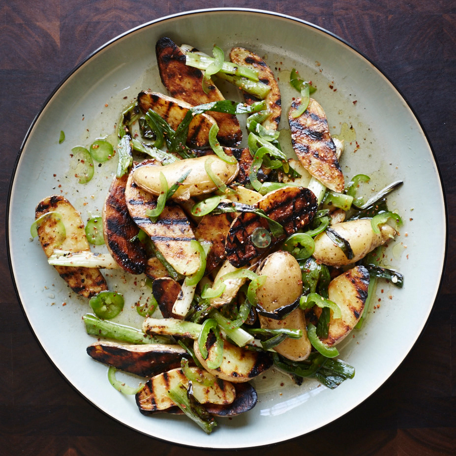 sesame sweet potatoes grilled sweet potatoes with scallions recipes ...