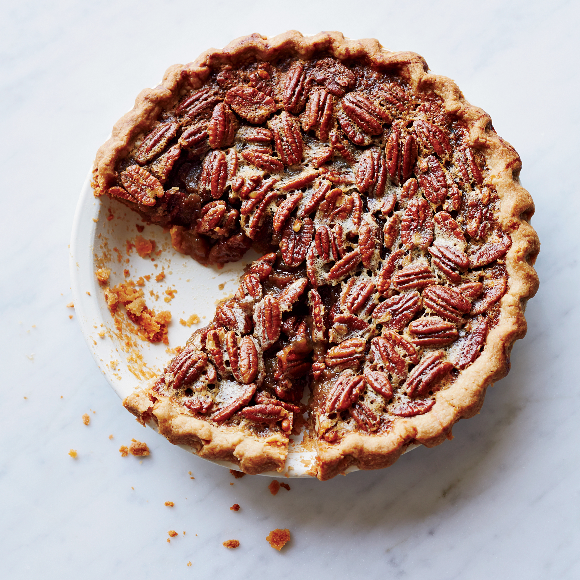 Bourbon-Pecan Pie Recipe - Cheryl Day | Food & Wine