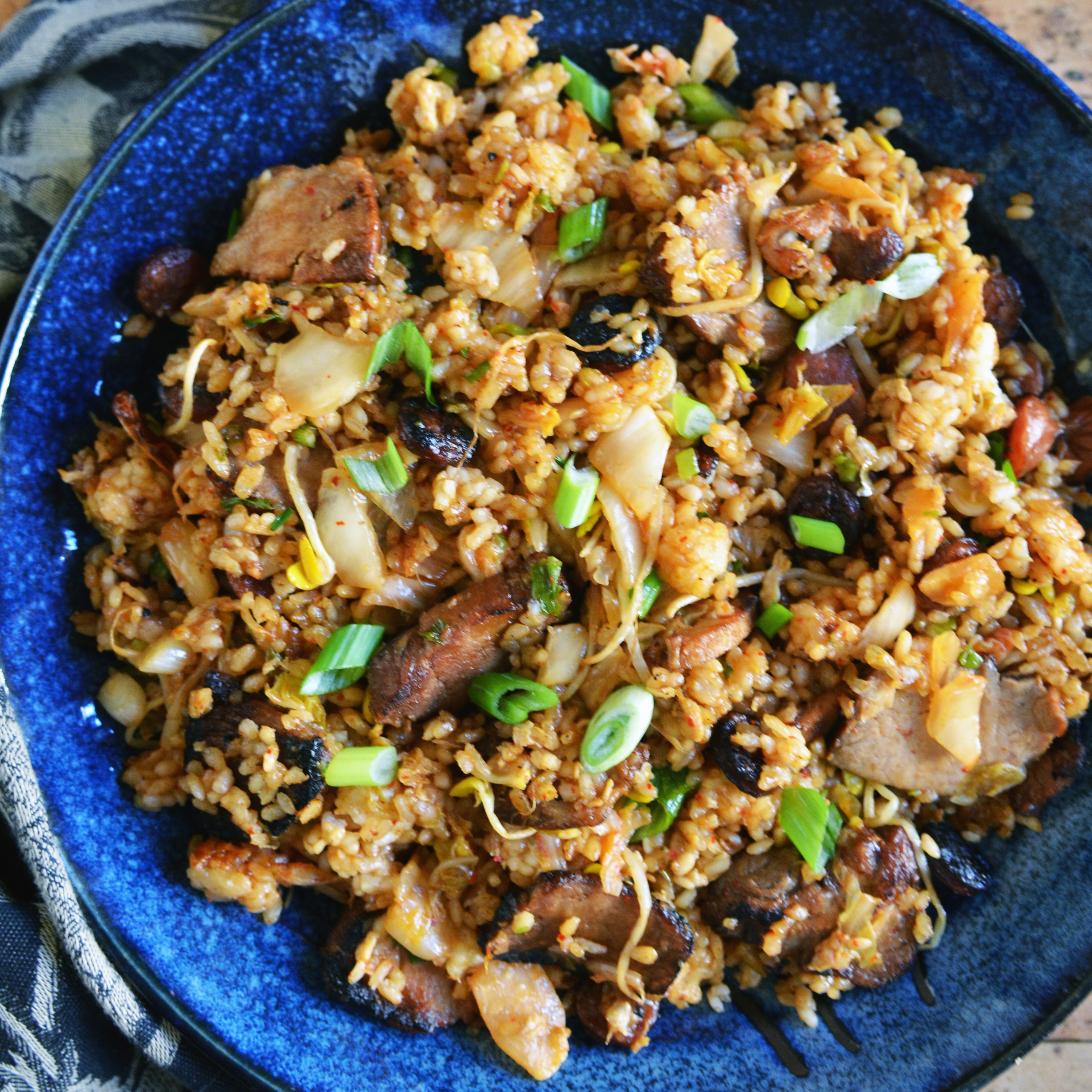 Kimchi Fried Rice Recipe - Andrew Zimmern | Food & Wine
