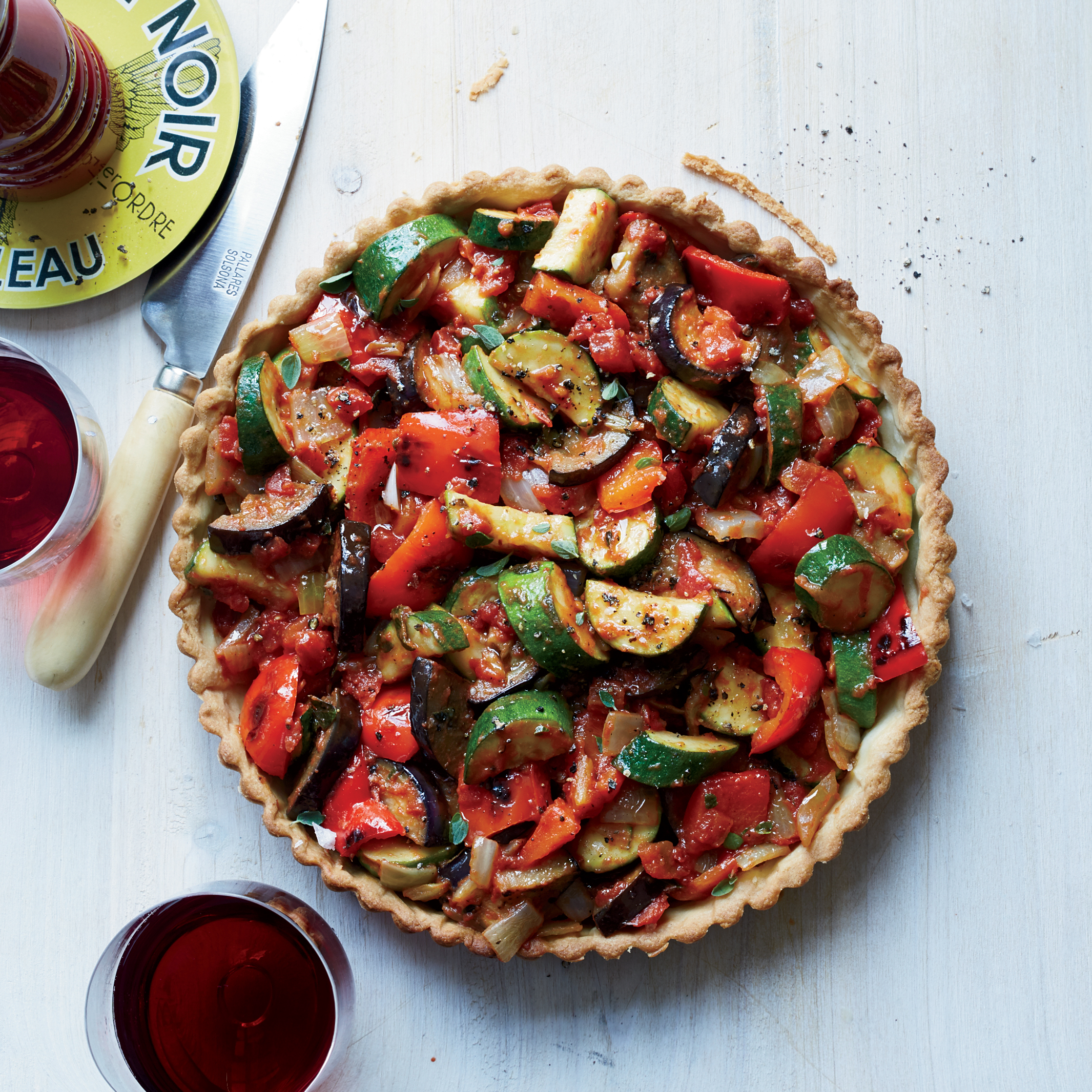 Ratatouille Tart Recipe - Koren Grieveson | Food & Wine