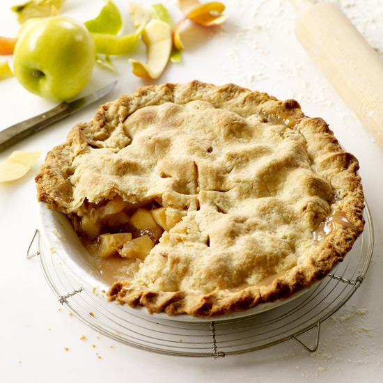 Double Crust Apple Pie Recipe — Dishmaps