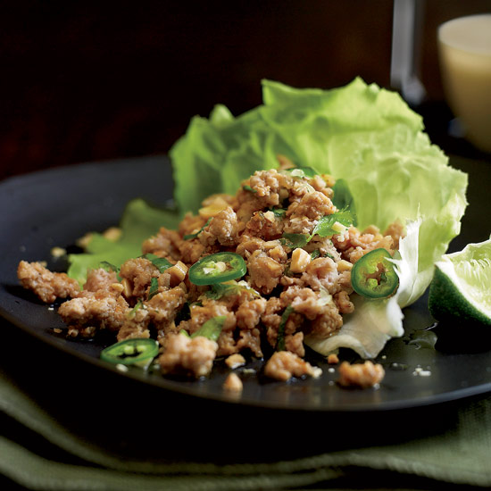 Thai Ground Pork Salad