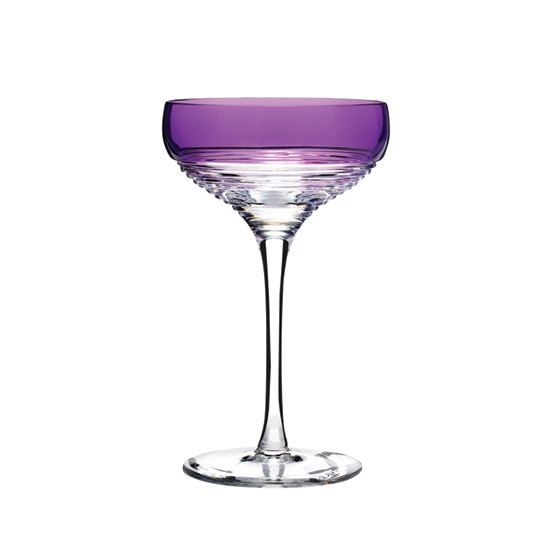 Vibrant Coupe Glasses