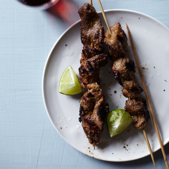 recipes pork satay pork satay a staple among hawkers in singapore is ...