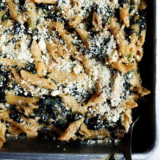 Creamed Spinach Gluten-Free Mac and Cheese