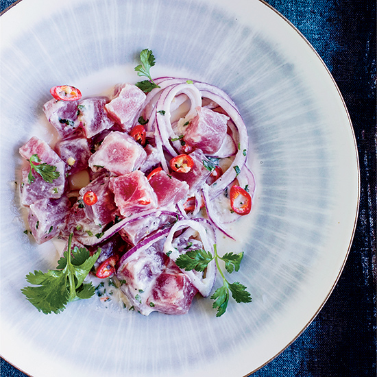 Filipino-Style Ceviche with Coconut Milk