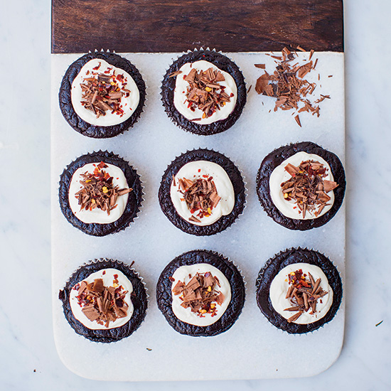 Day 2: Gluten-Free Chocolate Chile Cakes
