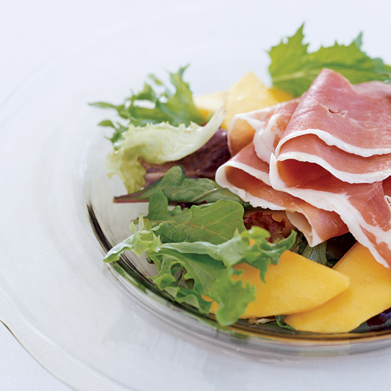 Country Ham and Mango Salad