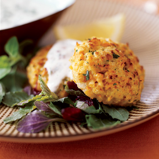 Cumin-Spiced Red Lentil Burgers