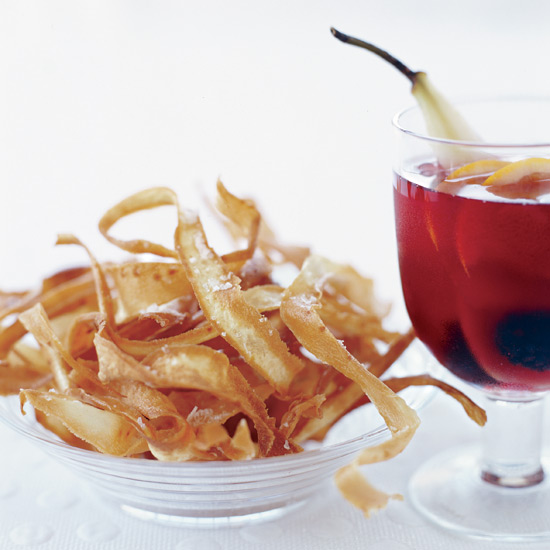Fried Parsnip Ribbons