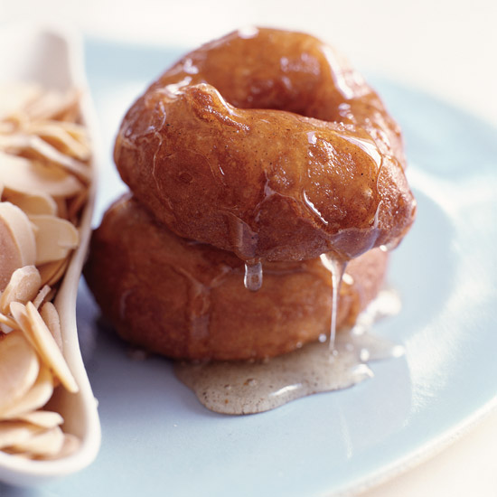 Doughnuts in Cardamom Syrup