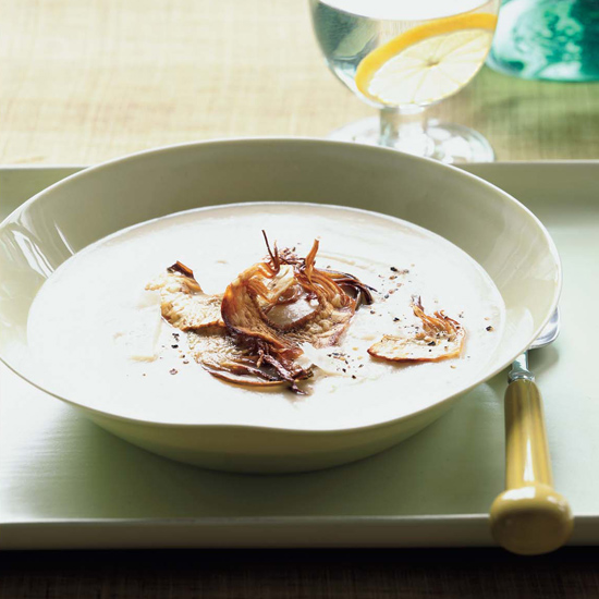 Big Heart Artichoke and Parmesan Soup