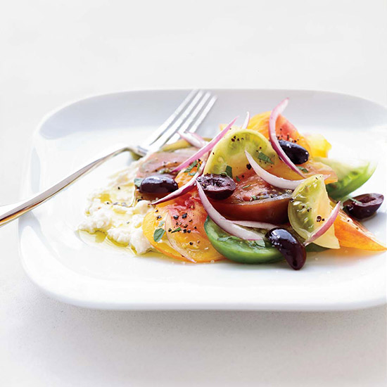 Gavin Kaysen: Greek Salad with Feta Mousse