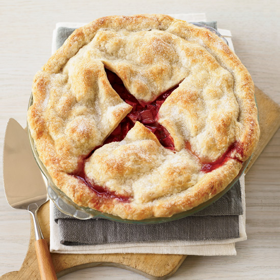 Deep-Dish Strawberry Rhubarb Pie