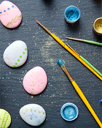 Pixel Whisk How-To: Easter Macarons