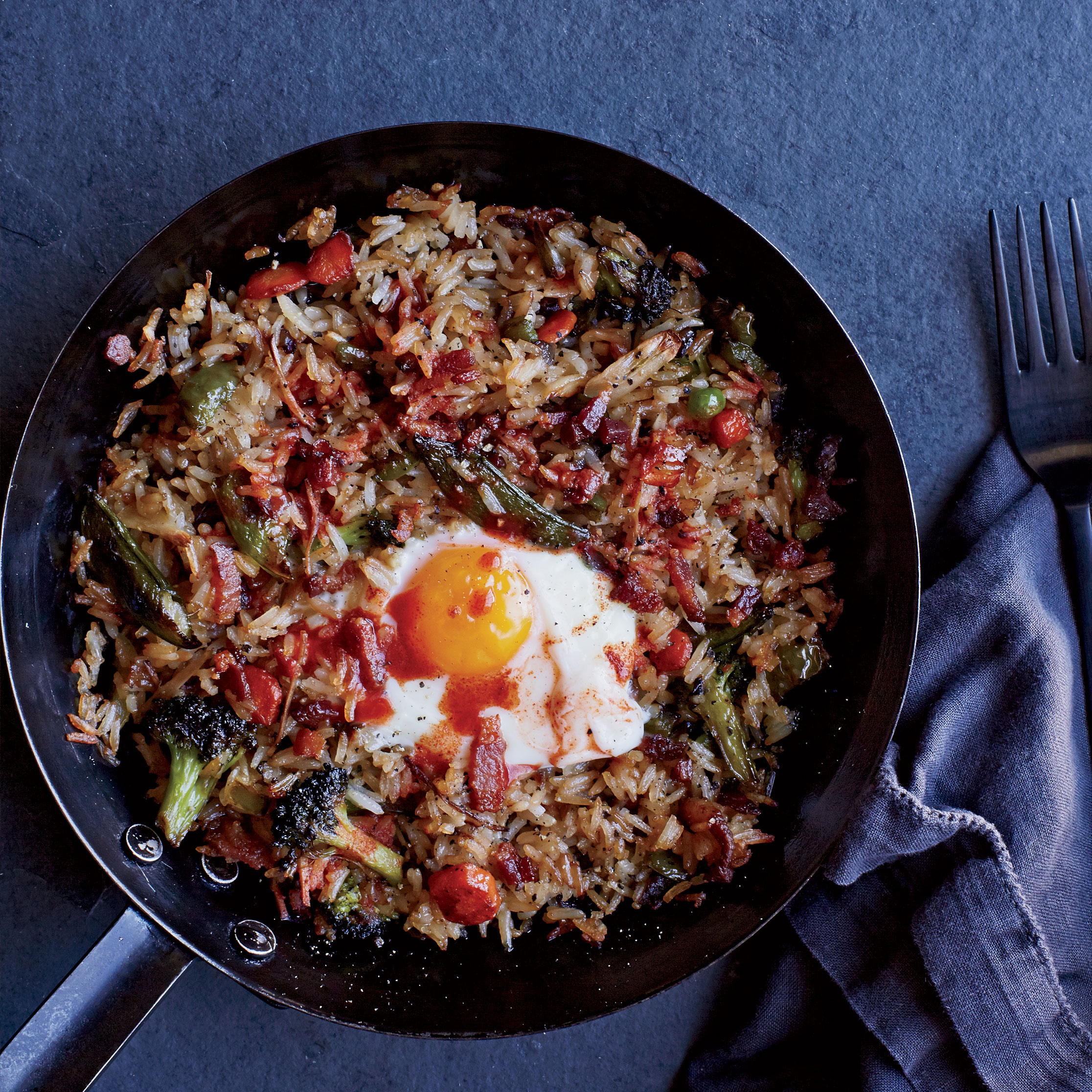 Bacon and Egg Fried Rice Recipe - Spike Gjerde | Food & Wine