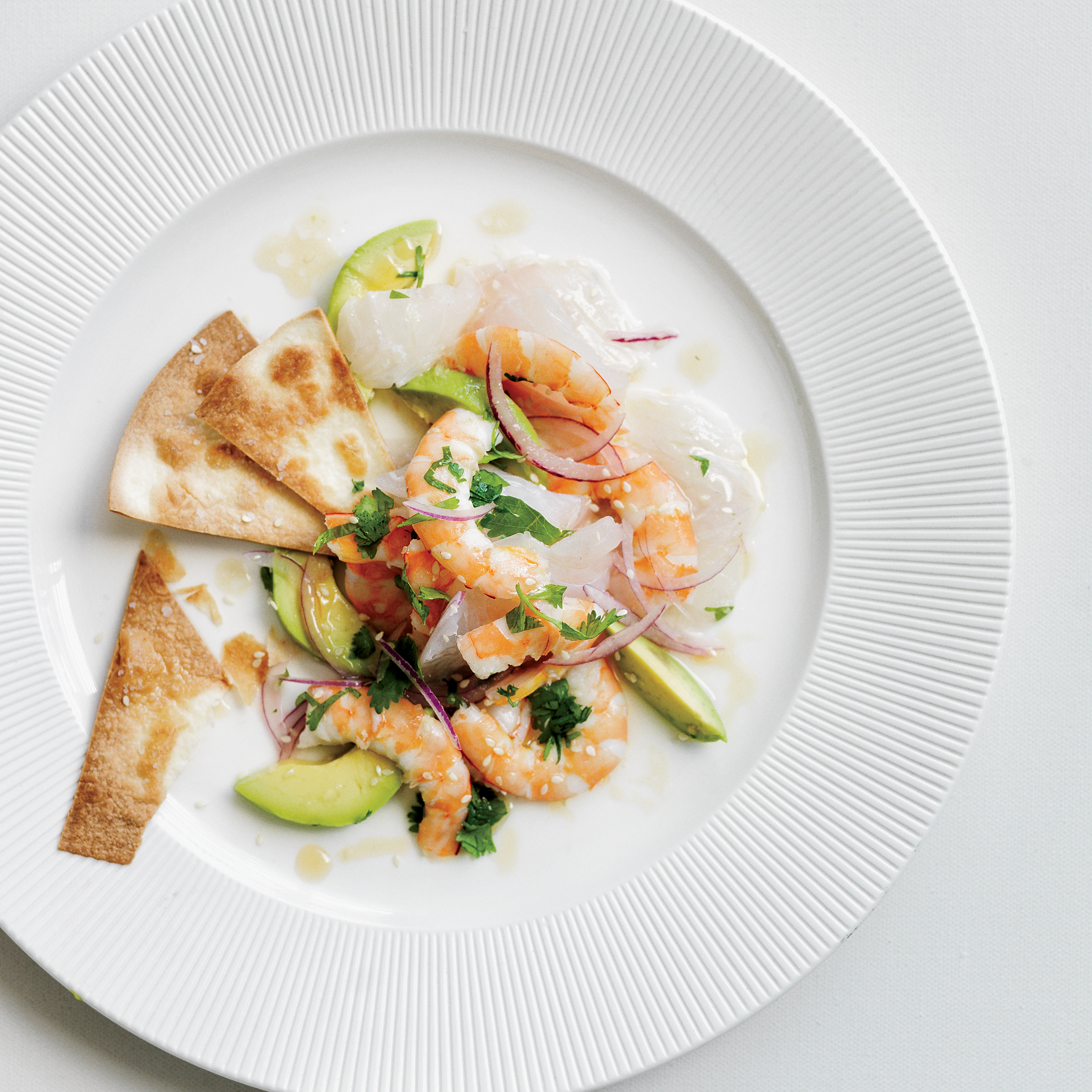 Red Snapper & Shrimp Ceviche Recipe - Michael Cordúa | Food & Wine