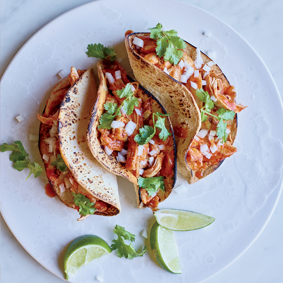 Chicken Tinga Tacos Recipe - Justin Chapple | Food & Wine