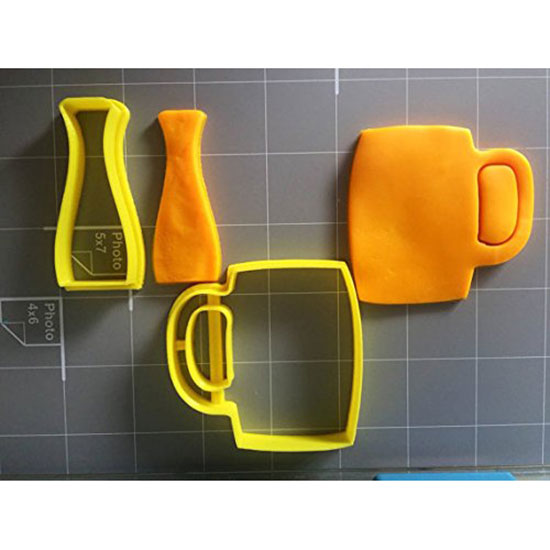 Beer Glasses Cookie Cutter