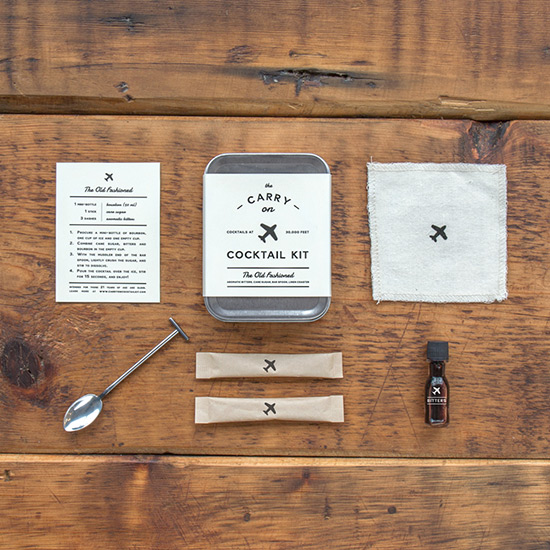 FWX AIRPLANE COCKTAIL KIT