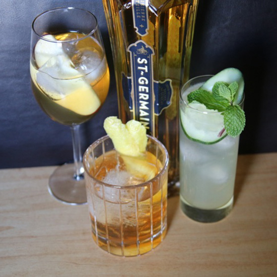 FWX COCKTAILS WITH ONE INGREDIENT ST GERMAIN 5