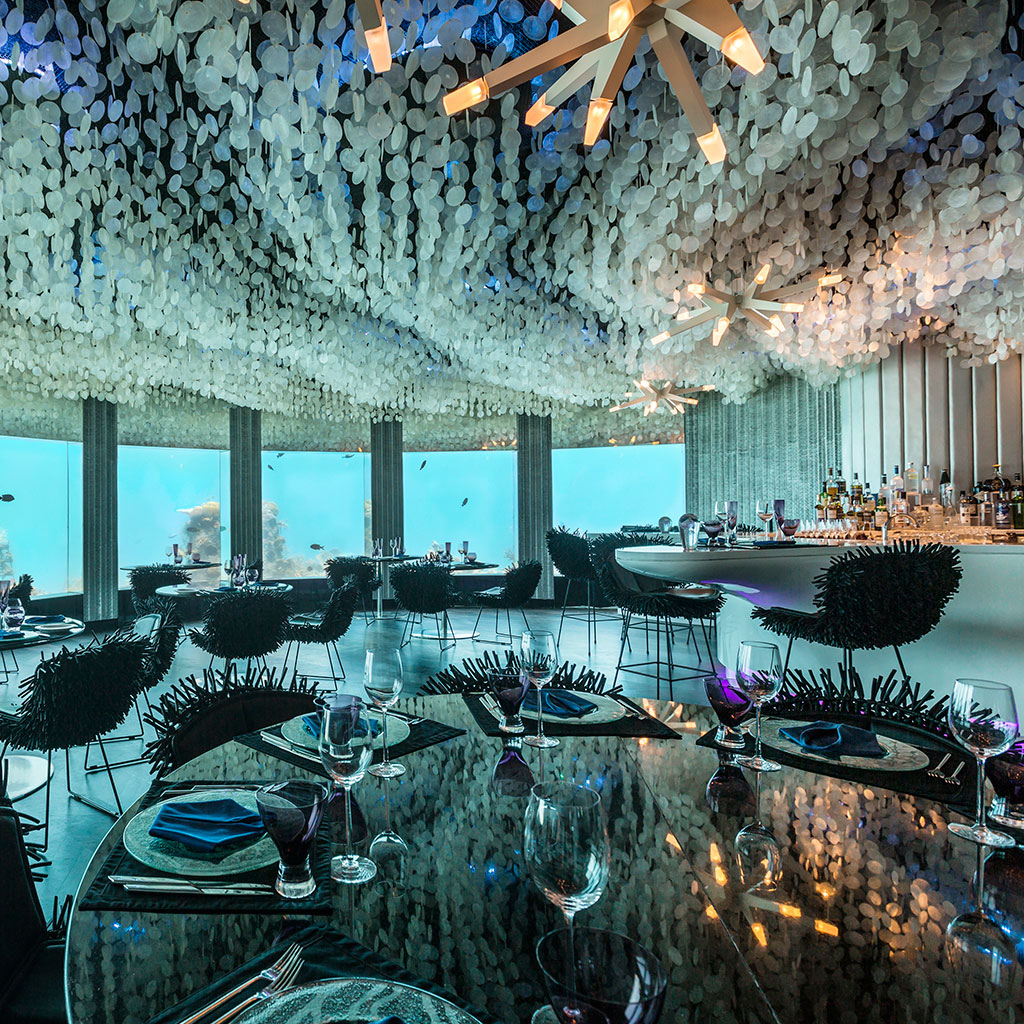 This Gorgeous Restaurant Will Let You Dine Under the Ocean